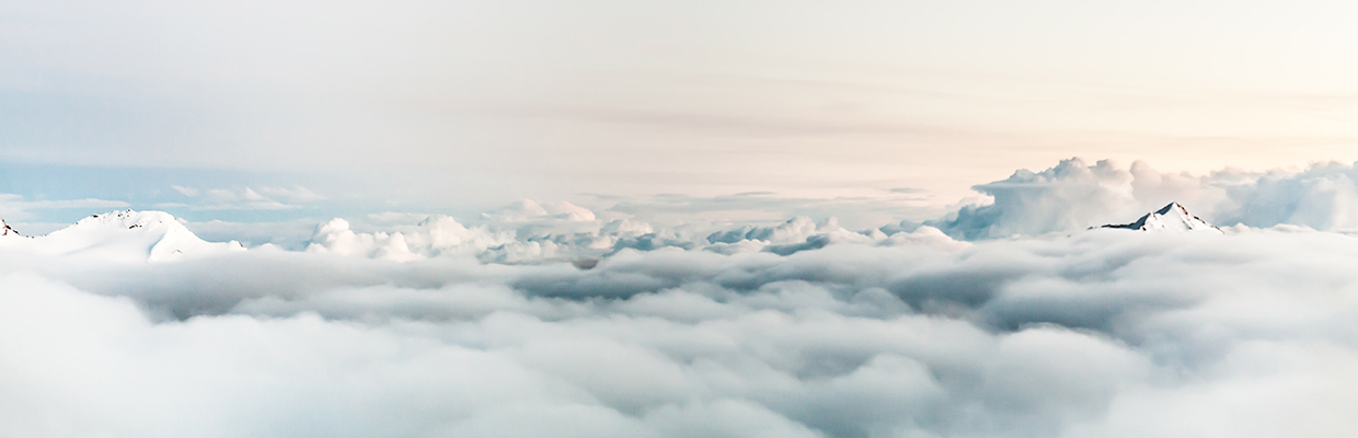 skyscape of clouds