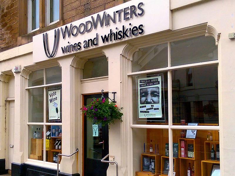 WoodWinters shop front